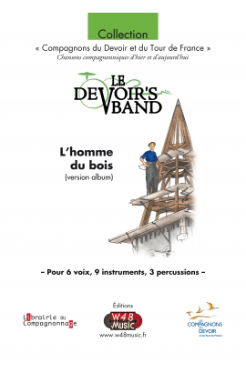 Partition L'Homme du Bois (version album)