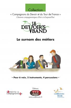 """Partition """"Le surnom des Métiers"""""""