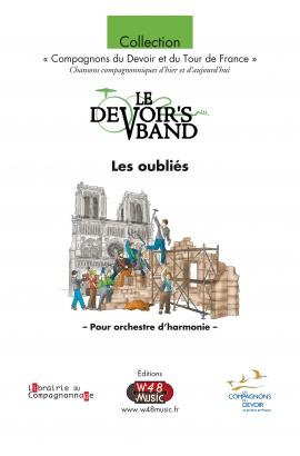 """Partition E-Score """"Les oubliés"""" (Version pour Harmonie)"""