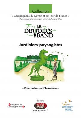"""Partition E-Score """"Jardiniers-paysagistes"""""""