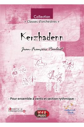 """Partition E-Score """"Kerzhadenn"""" (Pour Ensemble à Vents et Section rythmique)"""