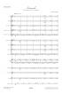 """Partition E-Score """"Ritournelle"""" (Pour Ensemble à Vents et Section rythmique)"""