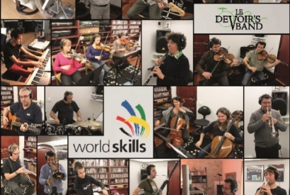 Enregistrement d'une nouvelle version de Worldskills